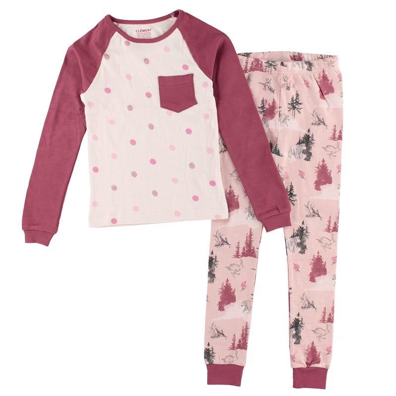 Pyjama Forêt Enchantée 2-14ans