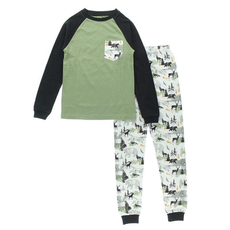 Forest Pajamas 2-14y