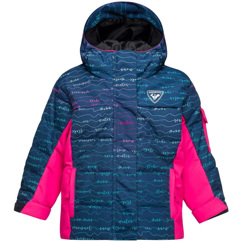 Manteau Imprimé Flocon 2-6ans