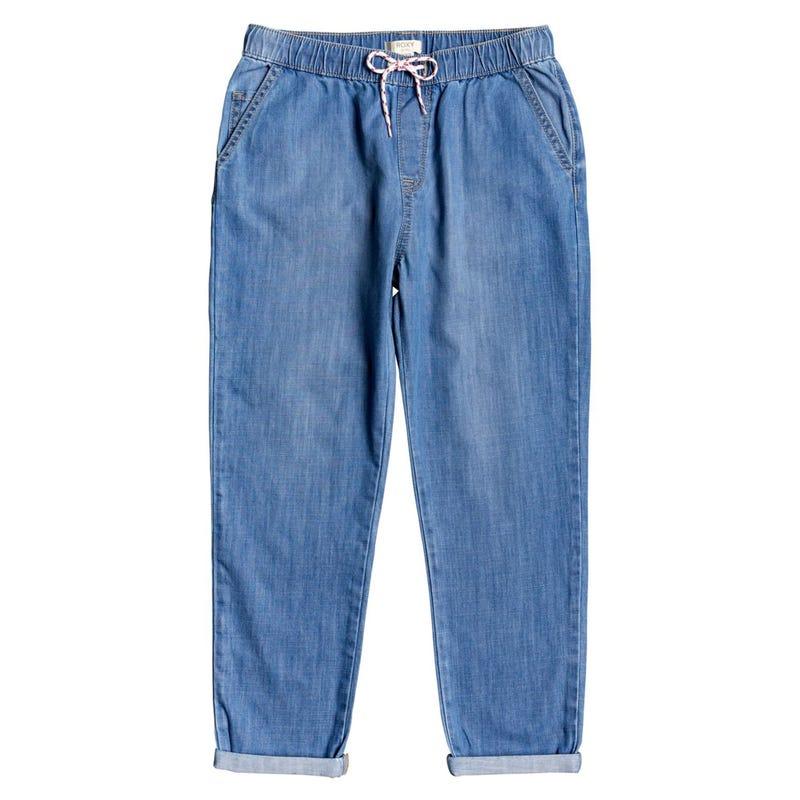 All I Am Denim Jogger Pants 8-14y