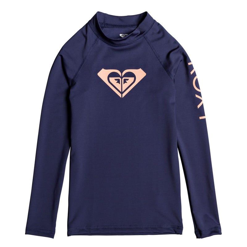 Heart Long Sleeve Rashgard 8-14y