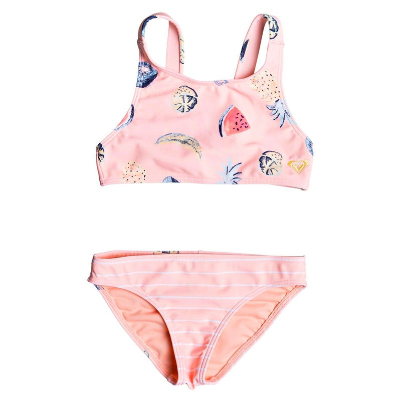 Splashing You Crop Top Bikini Set 4-6y
