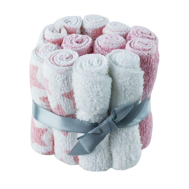 Washcloths Pack - Pink