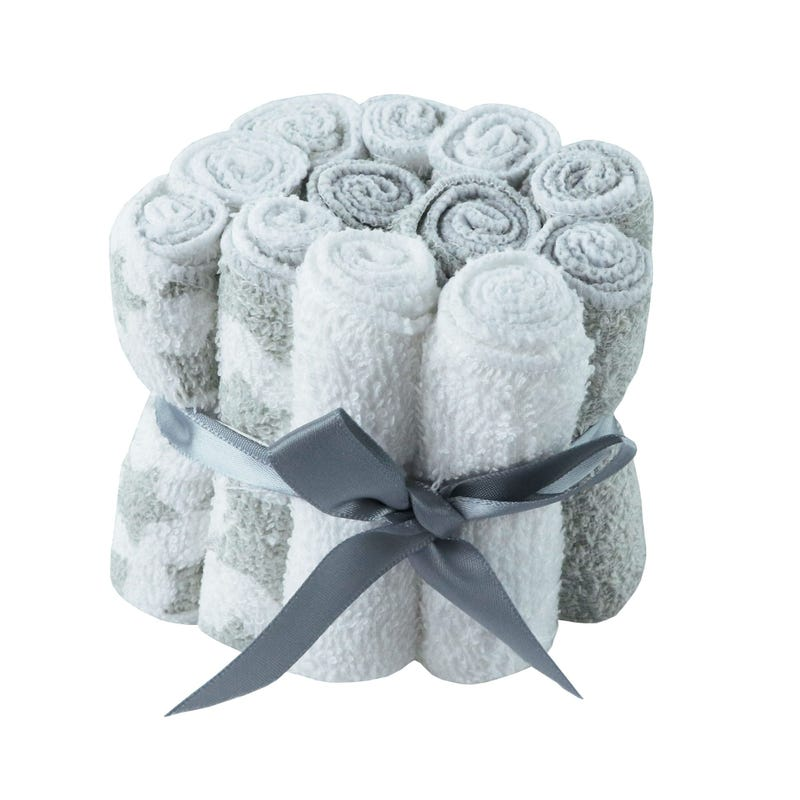 Washcloths Pack - Gray
