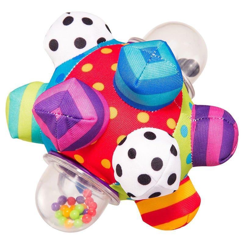 Balle d'Activité Tissu Multicolore