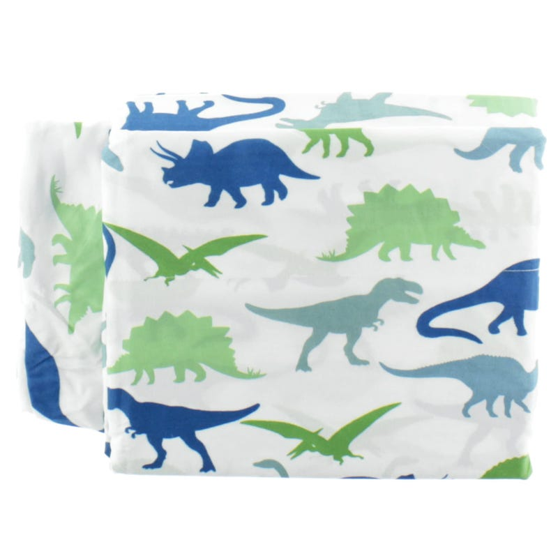 Ensemble Drap Lit Double - Dinosaure