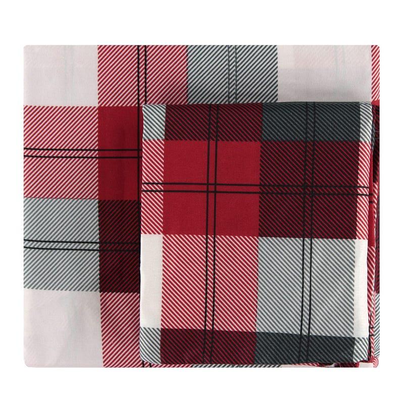 Double Sheet Set - Winter Plaid