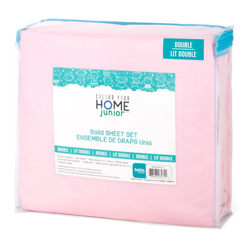Double Sheet Set - Pink