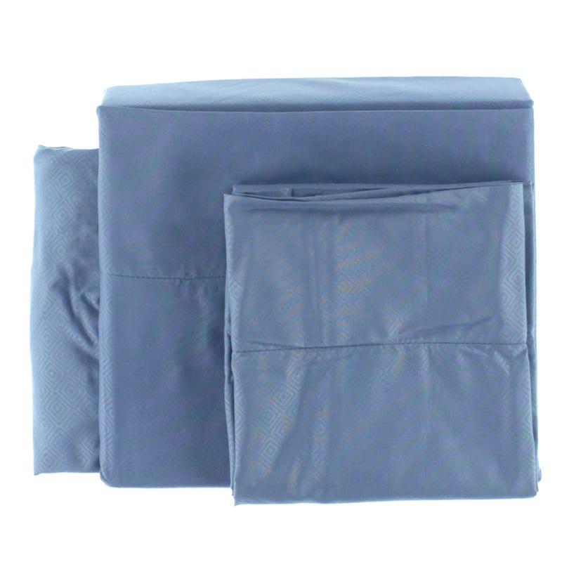 Twin Bamboo Sheet Set - Blue
