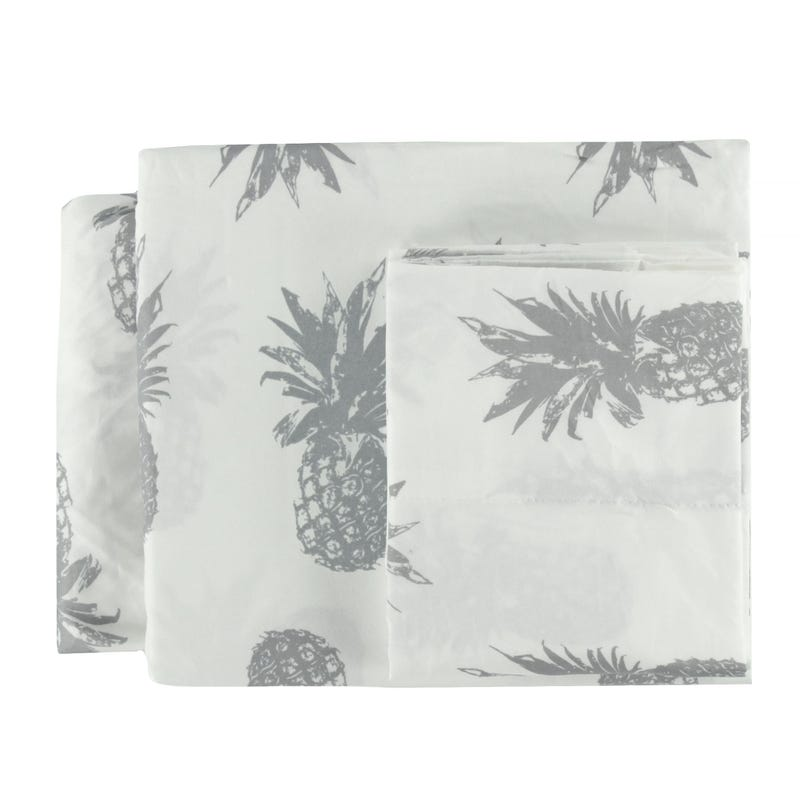 Double Sheet Set - Pineapples