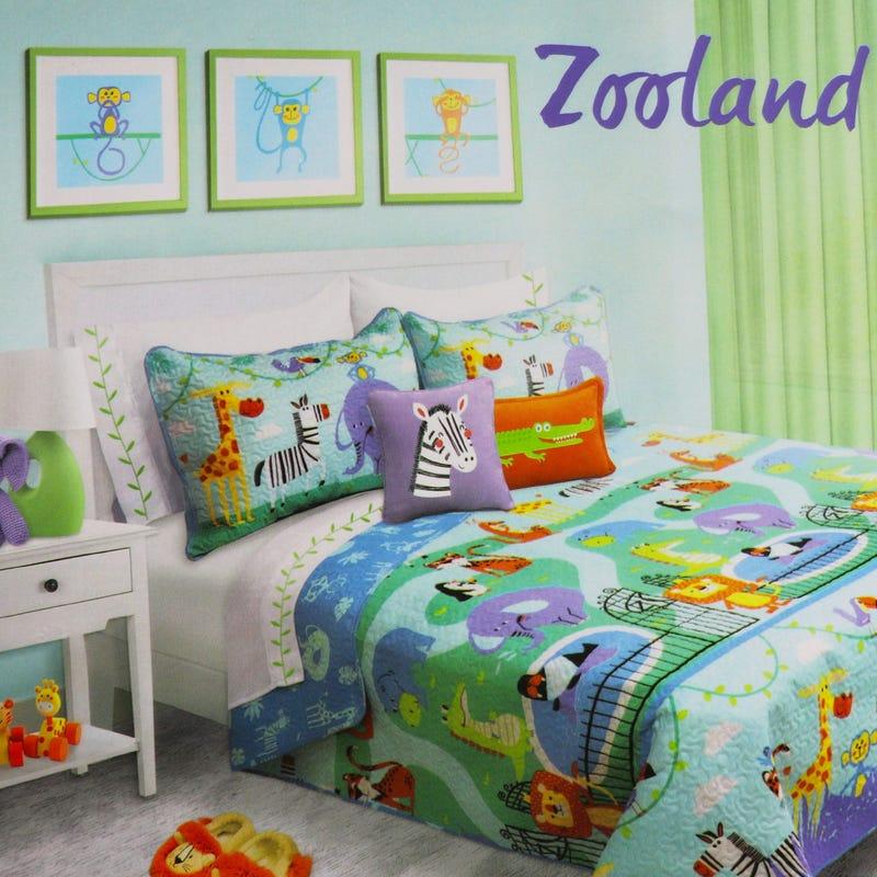Double Comforter - Zoo