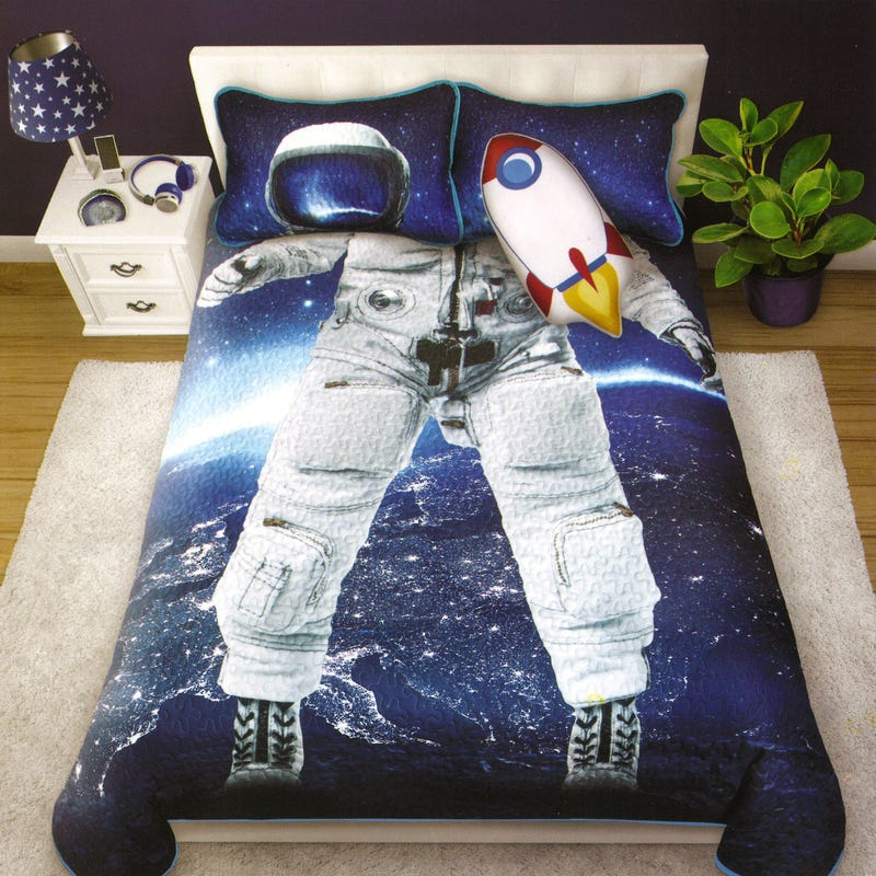 Double/Queen Quilt - Astronaut