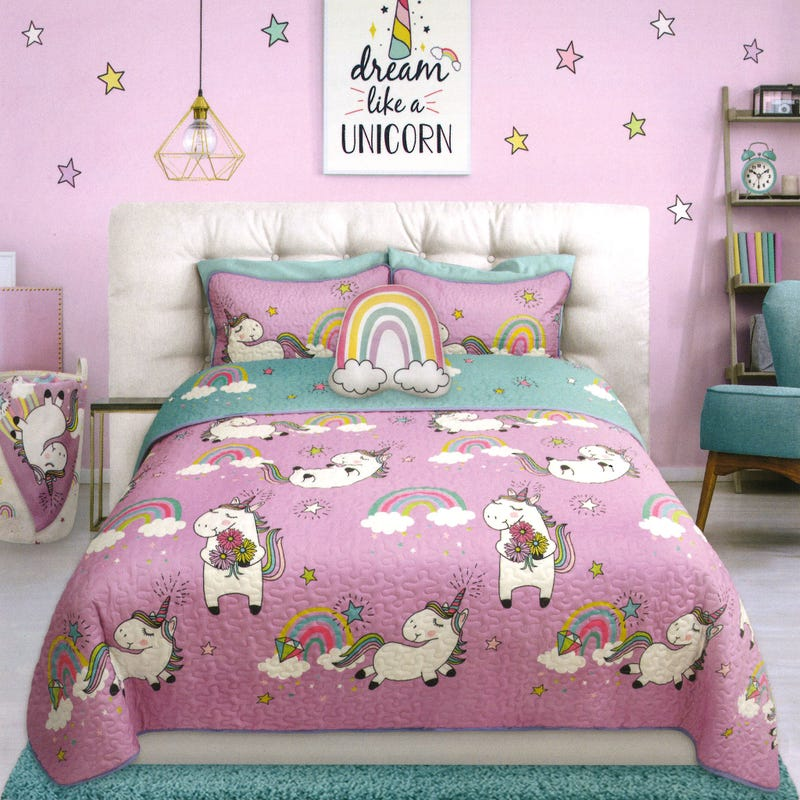 Twin Quilt - Unicorn