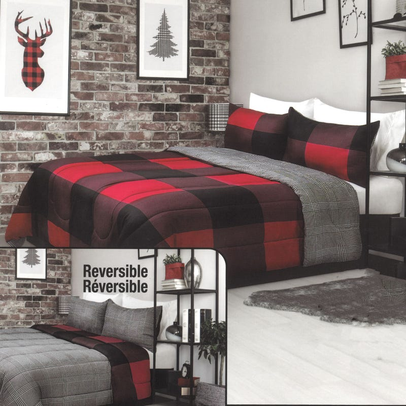 Twin Comforter - Red