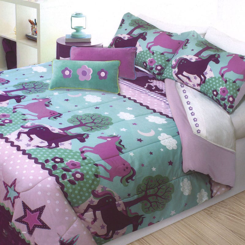 Double / Queen Comforter - Unicorn