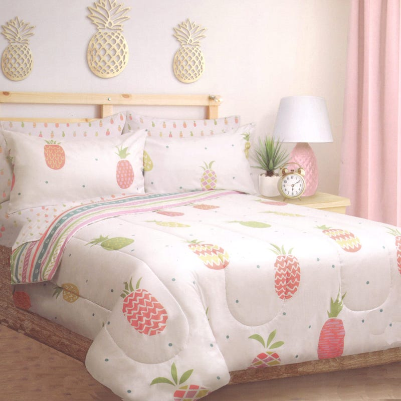Twin Comforter - Pineapple