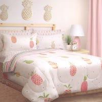 Double Comforter - Pineapple