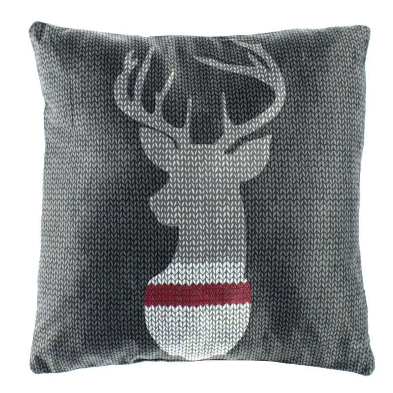 Cushion - Knitted Deer