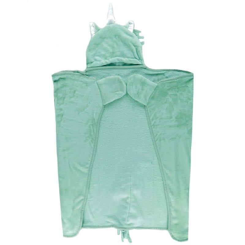 Couverture Licorne - Turquoise