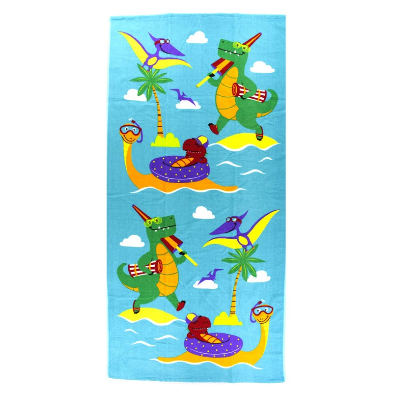 Beach Towel - Dinosaurs