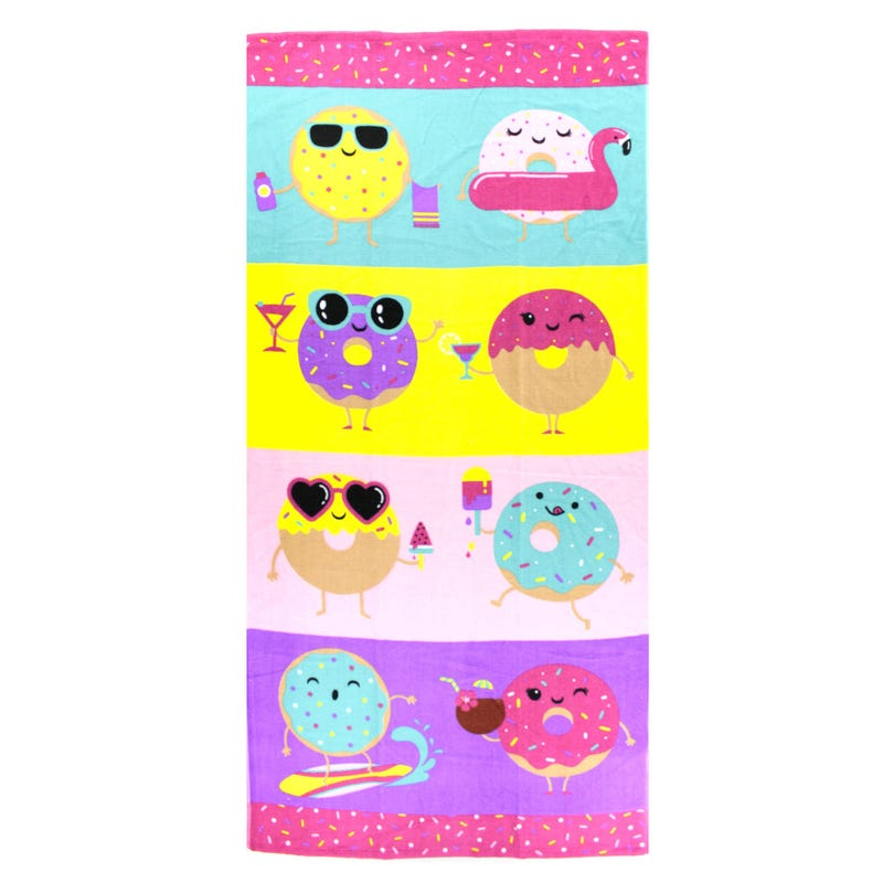 Beach Towel - Donuts