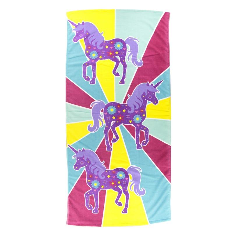 Beach Towel - Unicorns