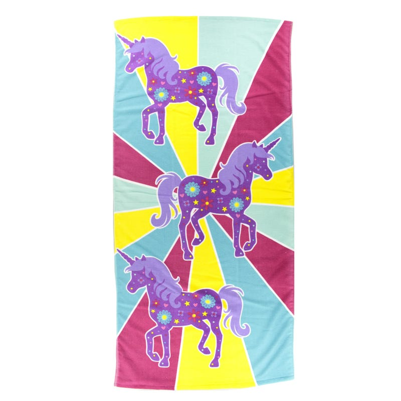 Beach Towel - Unicorns