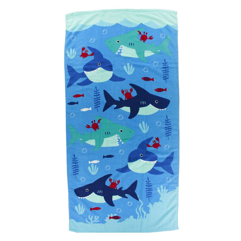 Beach Towel - Sharks