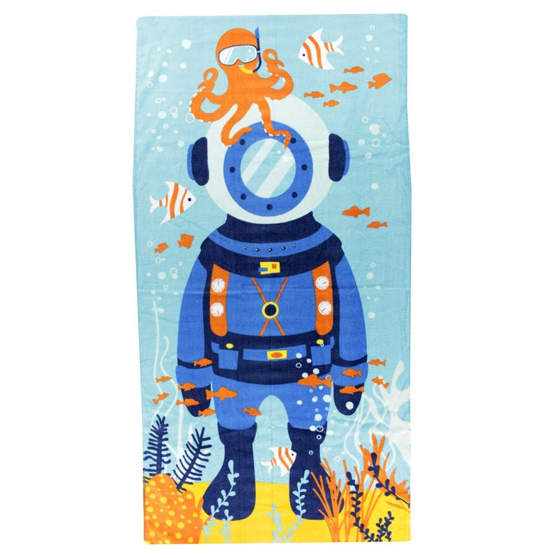 Beach Towel -  Scuba