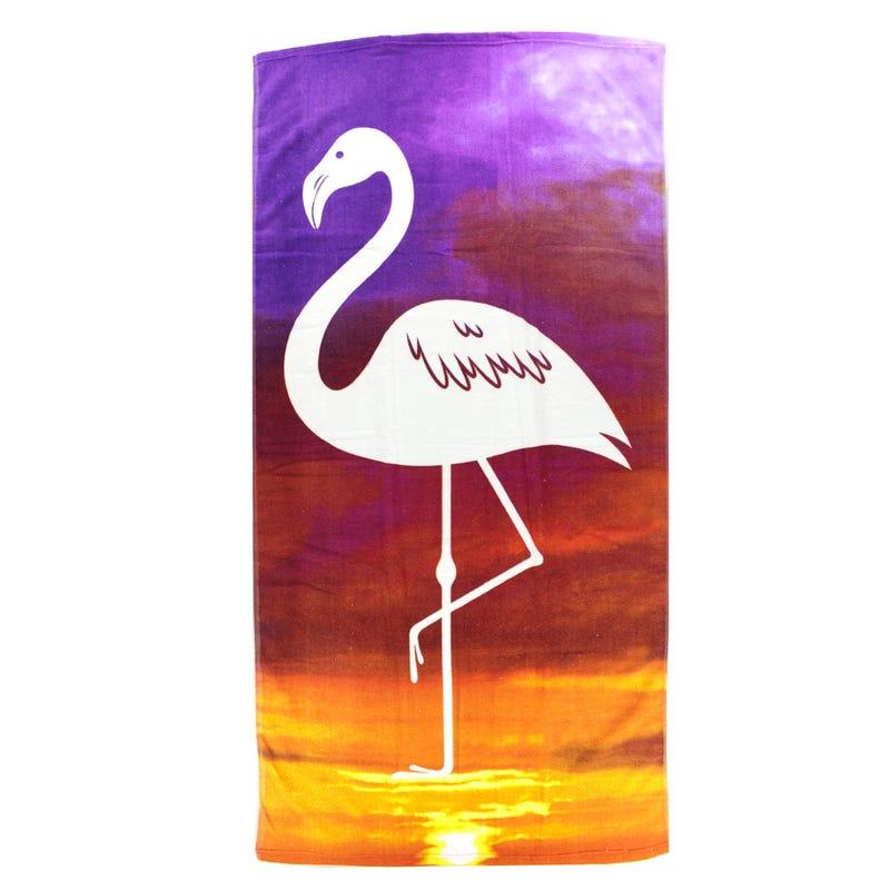 Beach Towel - Flamingo