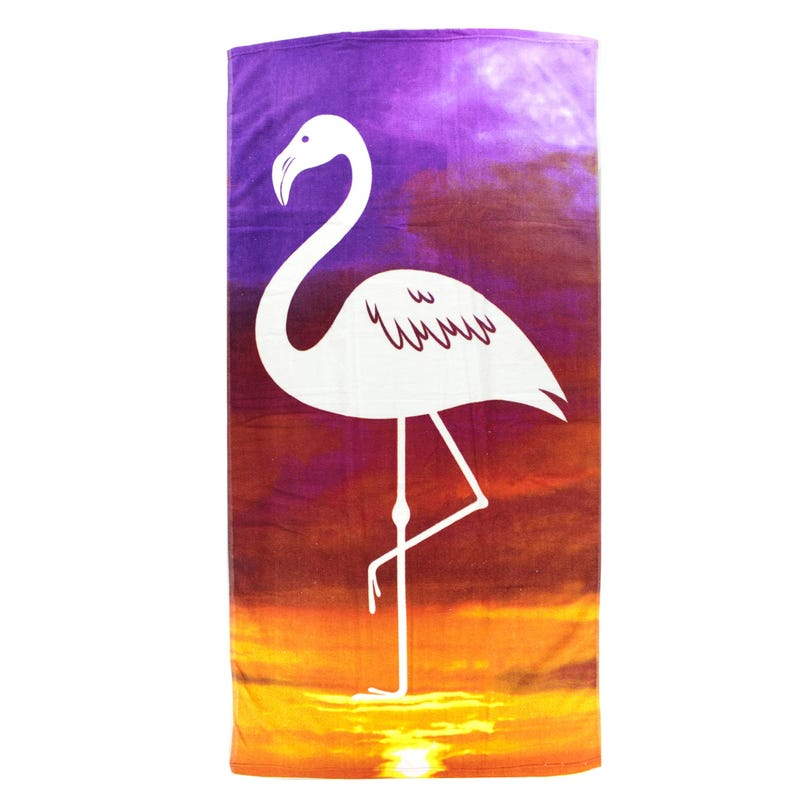 Beach Towel - Flamingo