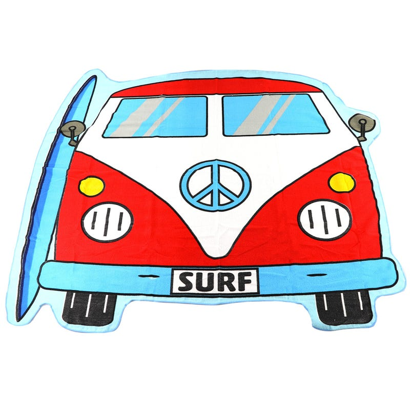 Beach Towel - Van Surf