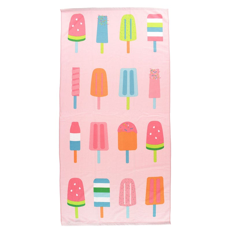 Beach Towel - Popsicle Reversible