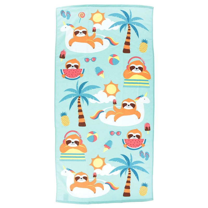 Beach Towel - Sloth