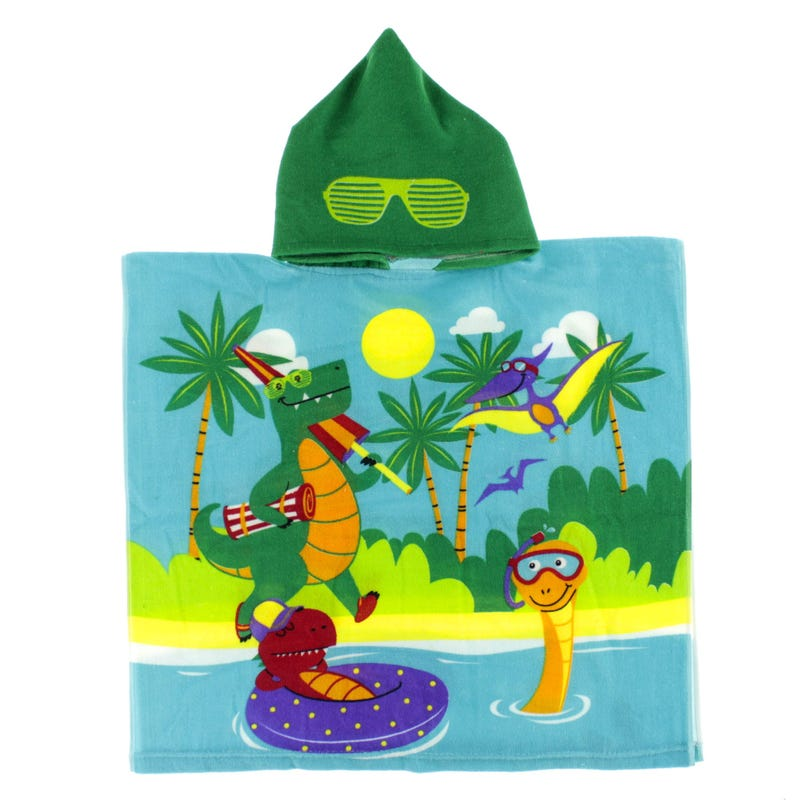 Towel Hooded - Dinosaurs