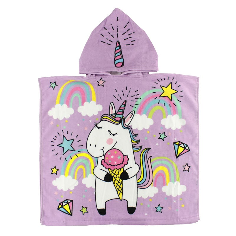 Hooded Towel - Unicorn