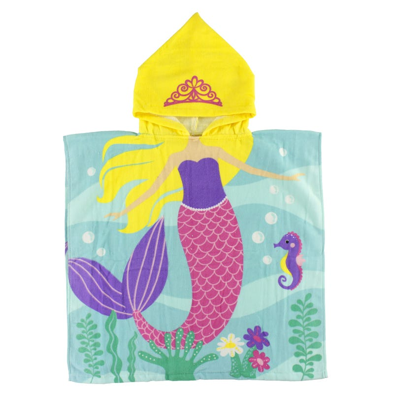 Hooded Towel - Mermaids