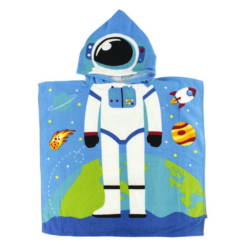 Hooded Towel - Astronaut