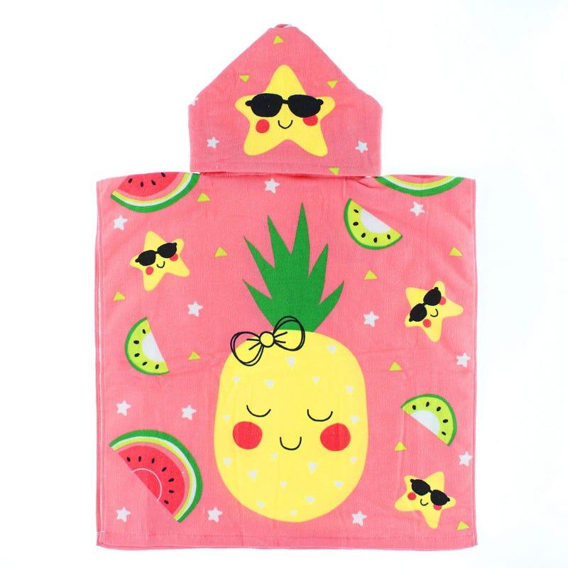 Serviette de Plage - Capuche Ananas