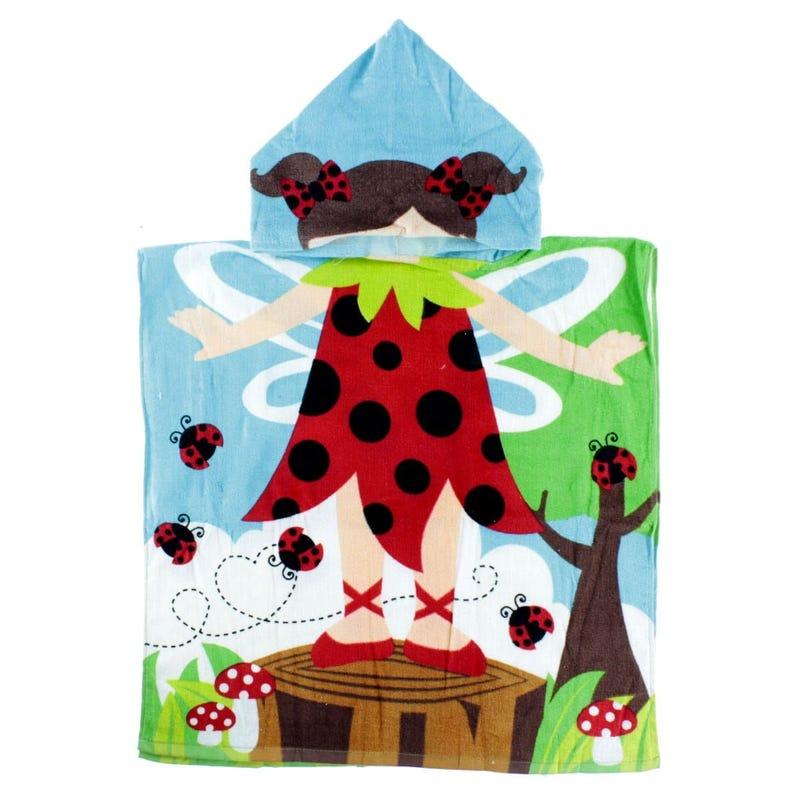 Towel Hooded - Ladybug