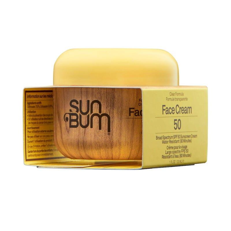 Crème Solaire Sun Bum pour Visage FPS50