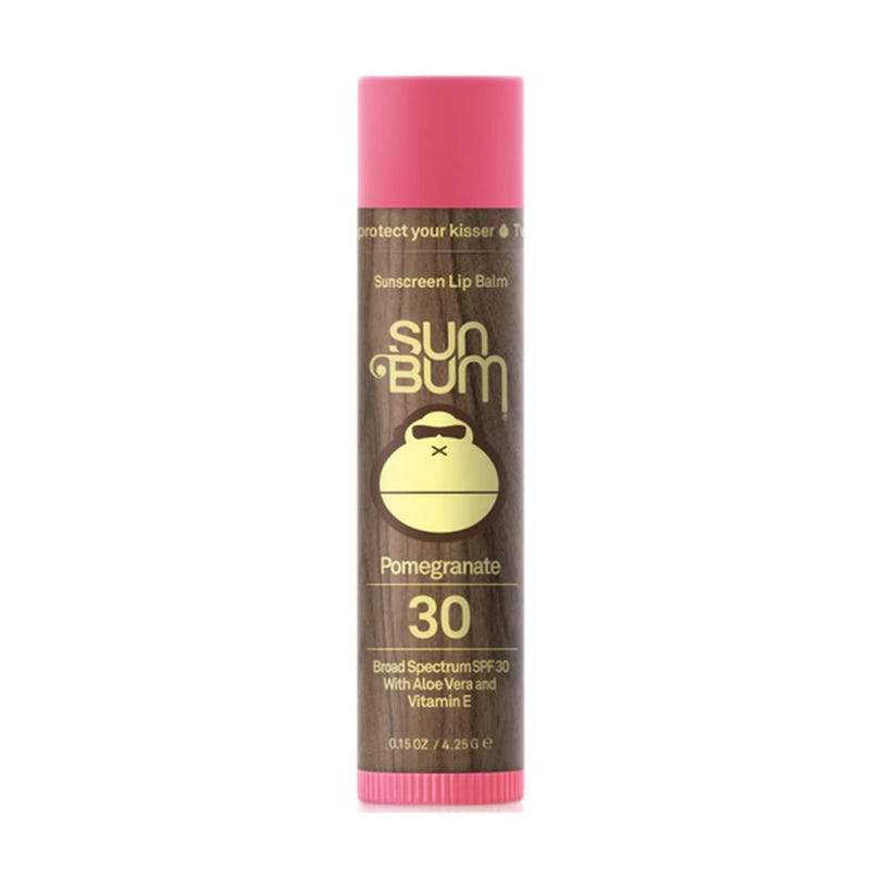 Sunscreen Lip Balm SPF 30 - Pomegranate