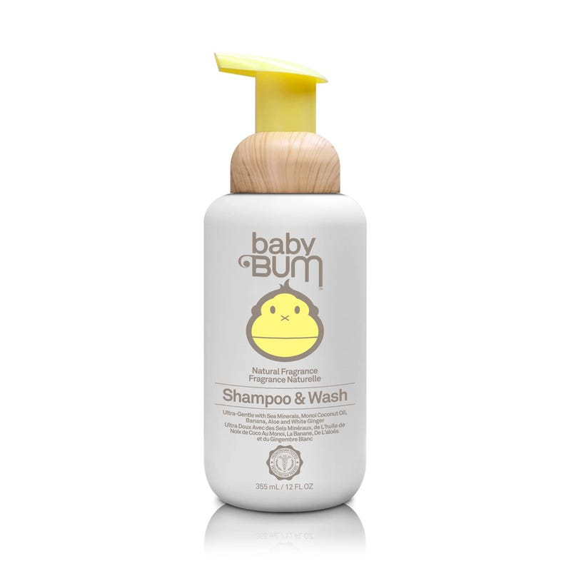Baby Bum Shampoo and Wash