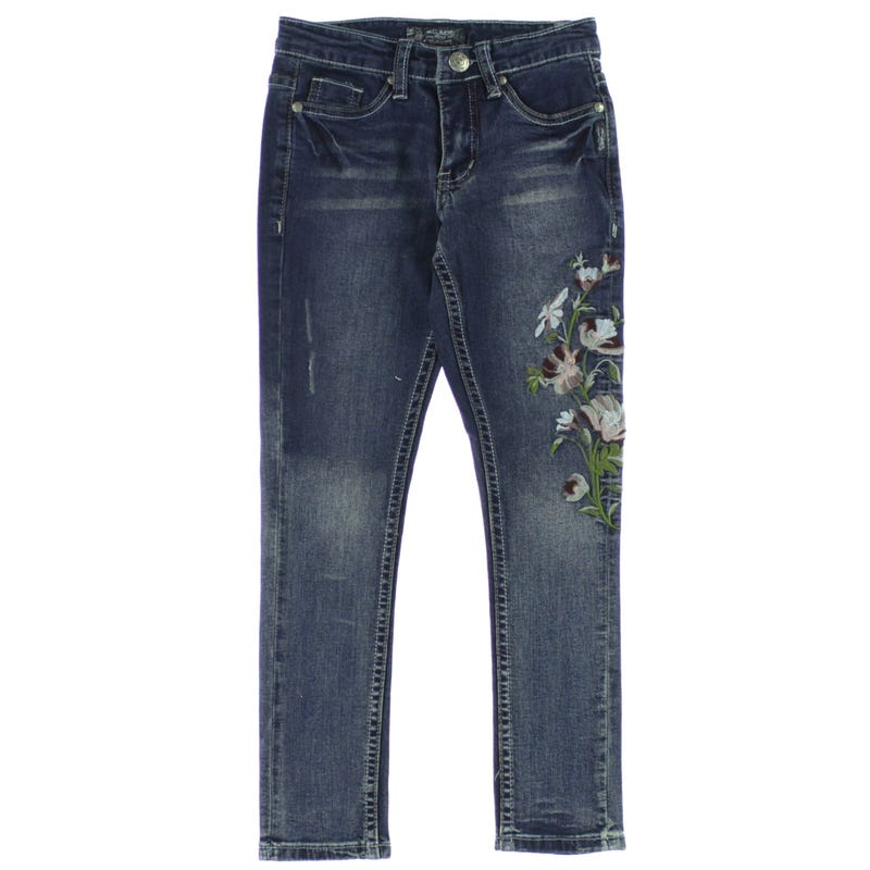 Embroidery Jeans 7-16y