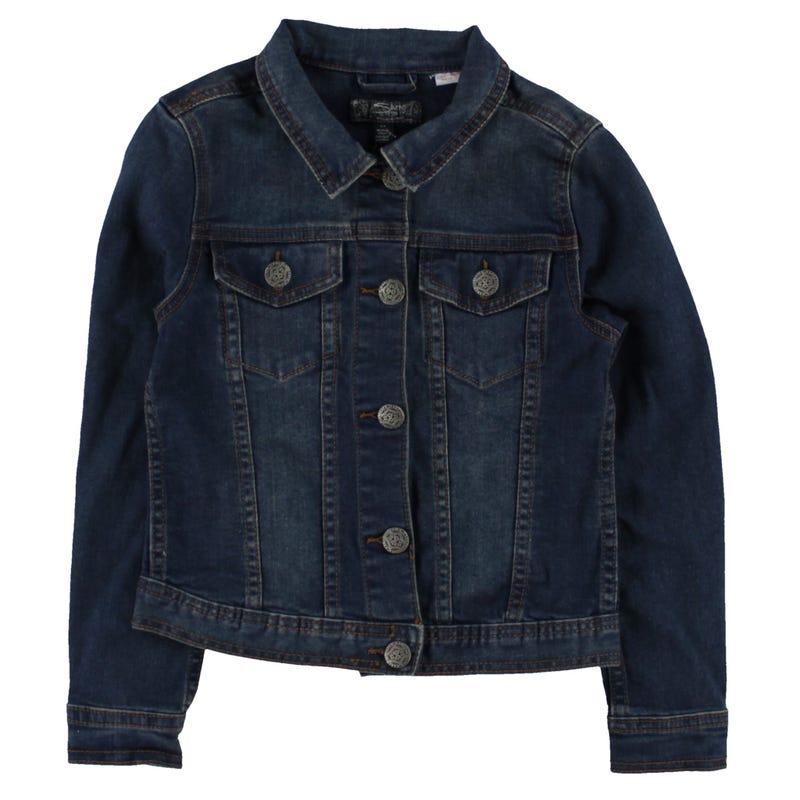 Silver Jeans Jacket 7-16y