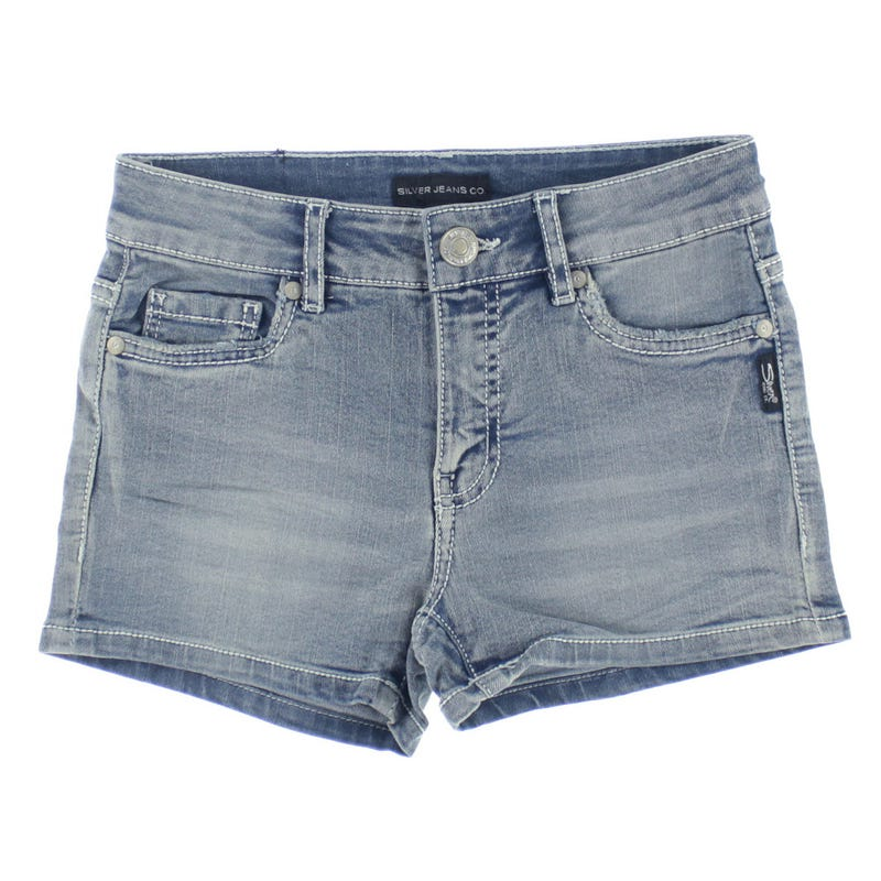 Short Denim Lacy 7-16ans