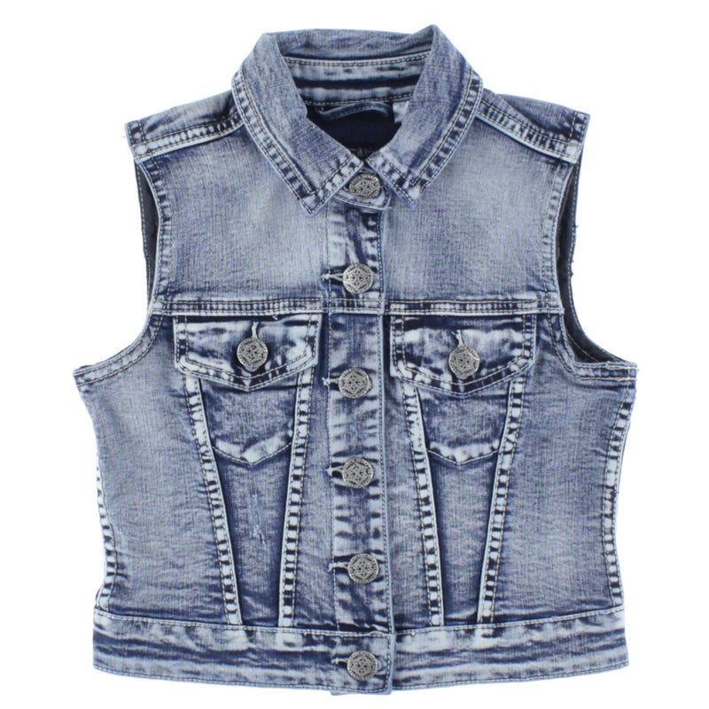 Silver Jeans Sleeveless Jacket 7-16y