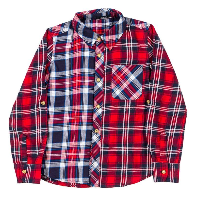 Plaid L/S Shirt 4-7
