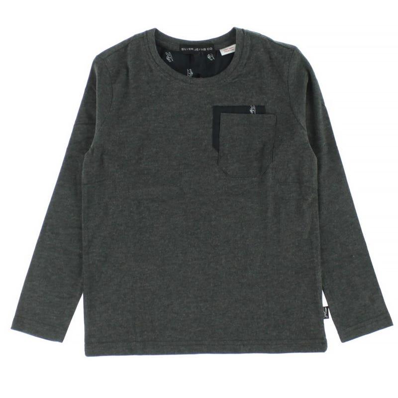T-Shirt à Manches Longues Poche 4-7