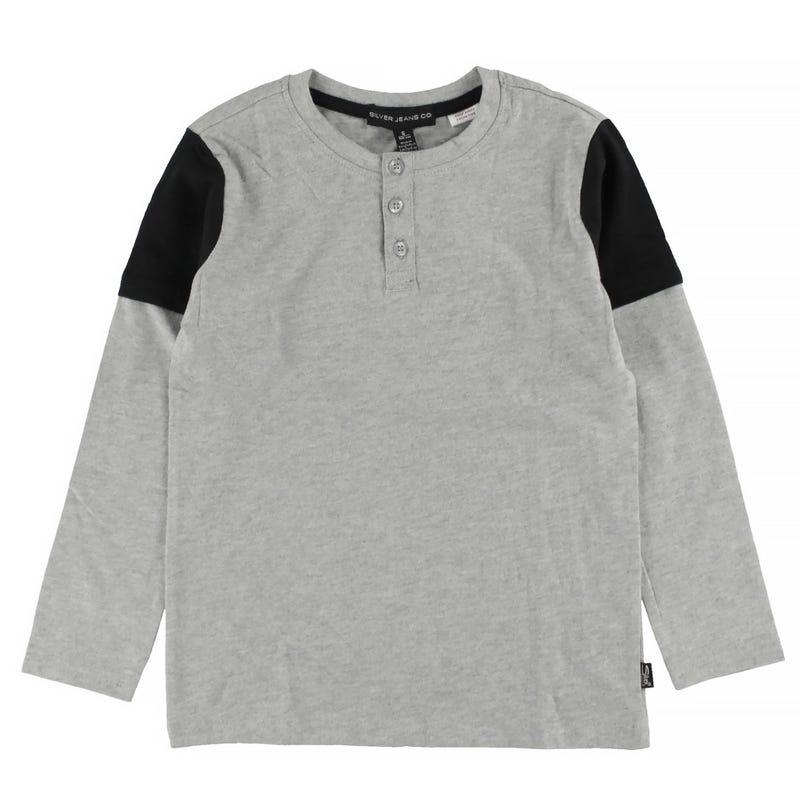 Henley L/S T-Shirt 4-7